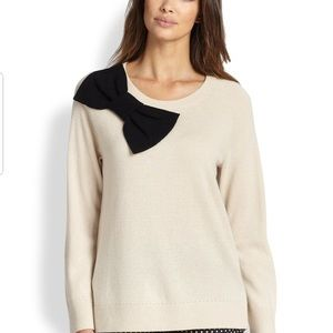 Kate Spade 100% Cotton Bow Sweatshirt